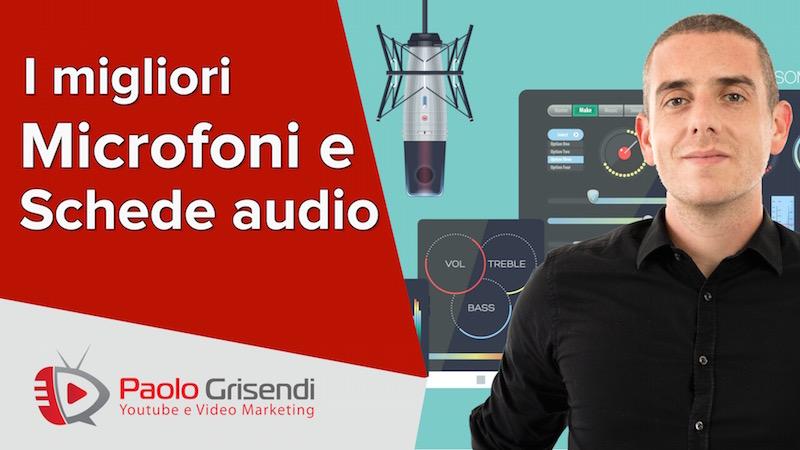 I migliori microfoni e schede audio