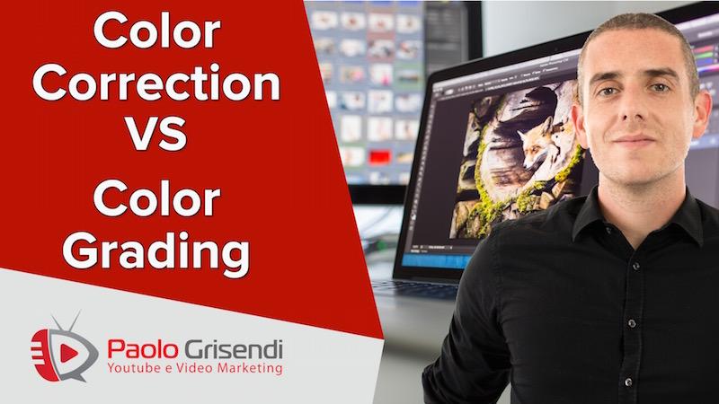 Color Correction e Color Grading