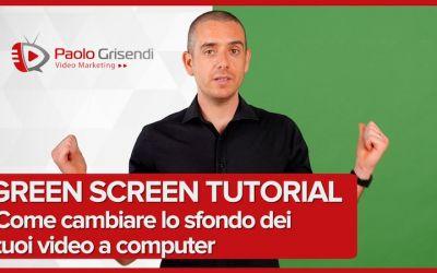 Green Screen tutorial - Come usare il Chroma Key per cambiare lo sfondo dei video
