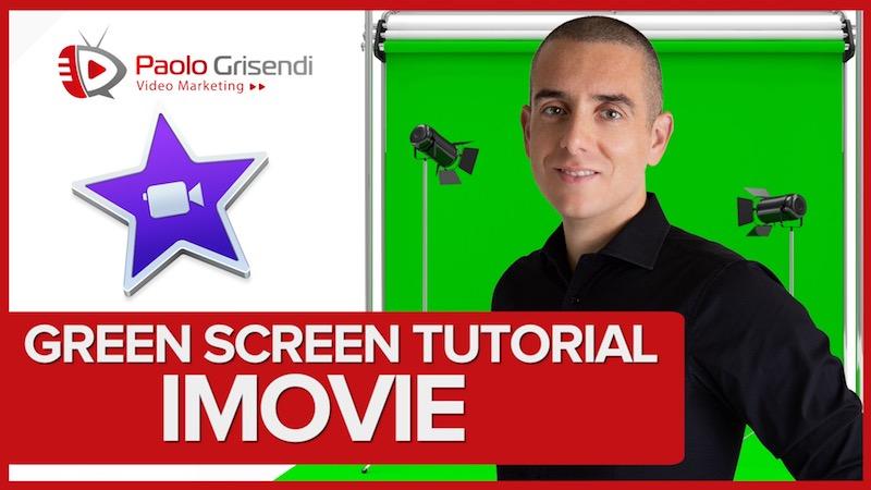Tutorial Chroma Key in IMovie – Come usare il green screen per rimuovere lo sfondo