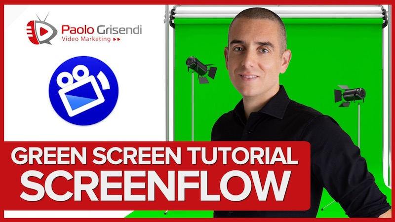 Tutorial Chroma Key in Screenflow