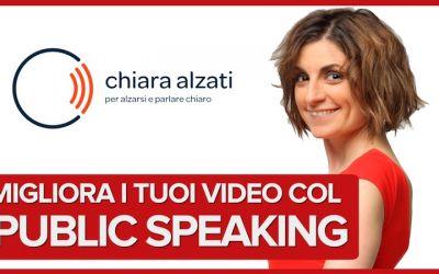 Migliora i tuoi video con le tecniche del Public Speaking