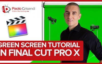 Tutorial Chroma Keying in Final Cut Pro X - Come usare il green screen per rimuovere lo sfondo