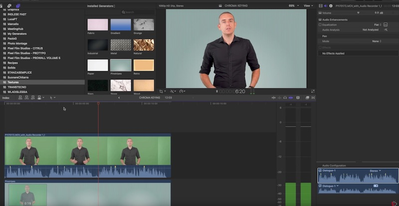 Green Screen tutorial - Come usare il Chroma Key per cambiare lo sfondo dei video
