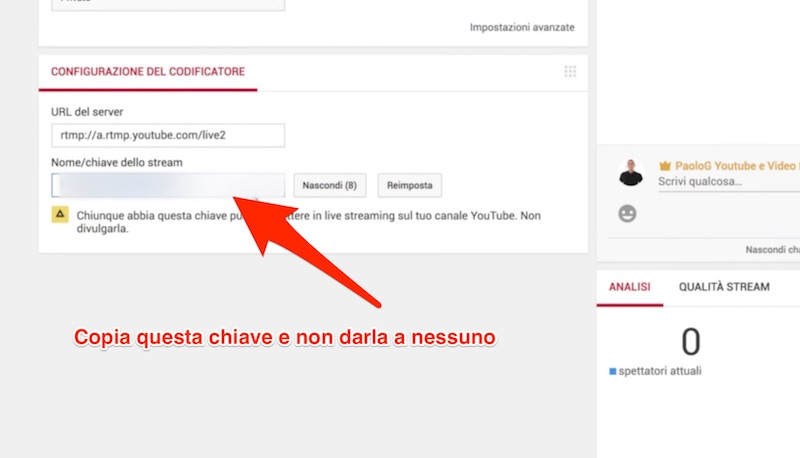 Come fare una live su Youtube - Tutorial dirette live streaming Youtube