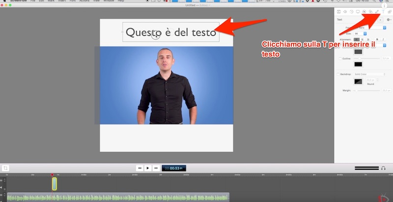 Come realizzare Video Quadrati per Facebook con Screenflow