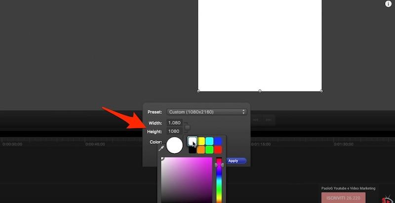 Come realizzare Video Quadrati per Facebook con Camtasia