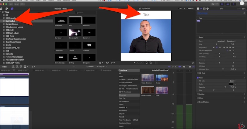 Come realizzare Video Quadrati per Facebook con Final Cut Pro X