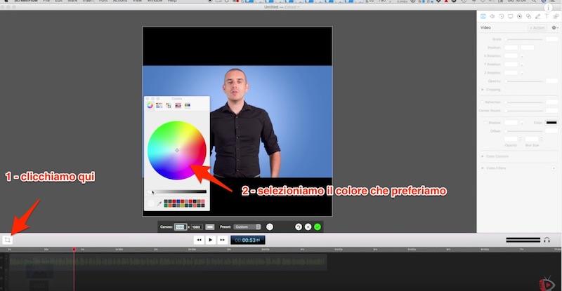 Come realizzare Video Quadrati per Facebook con Screenflow