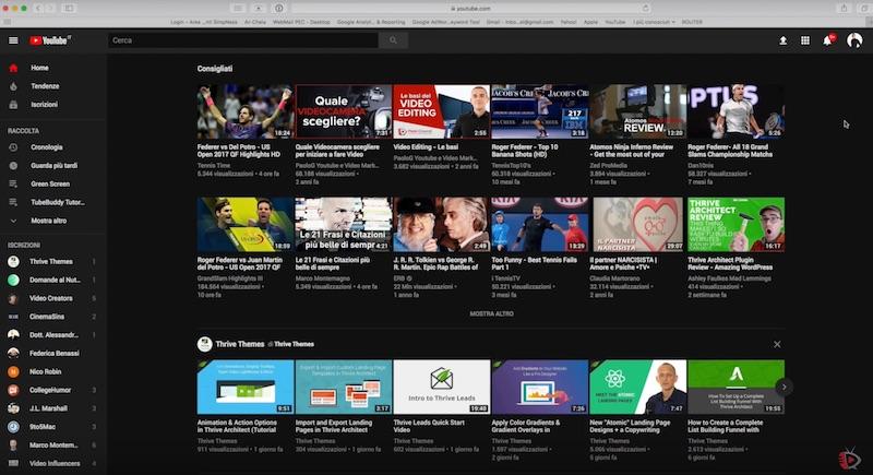 Il Nuovo Layout di Youtube -Come attivare la nuova interfaccia 2017
