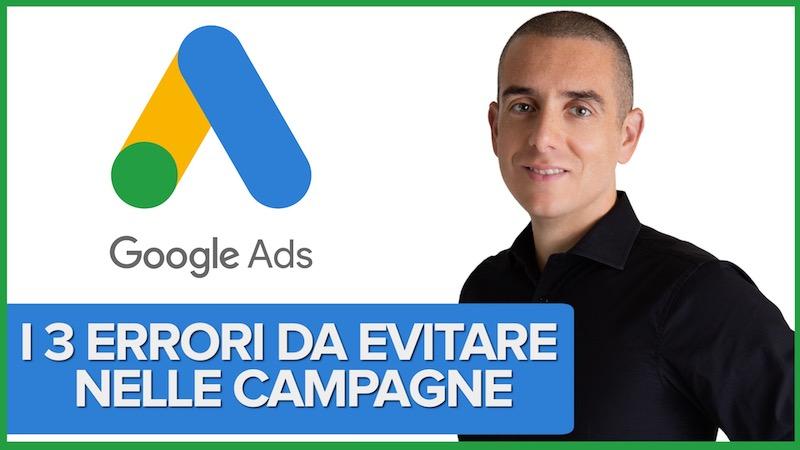 I 3 motivi per i quali le Campagne Google Ads per i video possono fallire